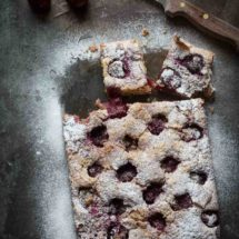 Cherry coconut cake | insimoneskitchen.com
