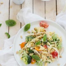 Pasta salad with broccoli | insimoneskitchen.com
