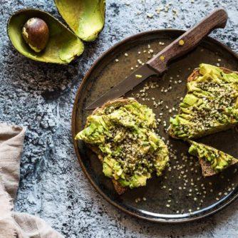 Avocado toast with hemp seeds | insimoneskitchen.com