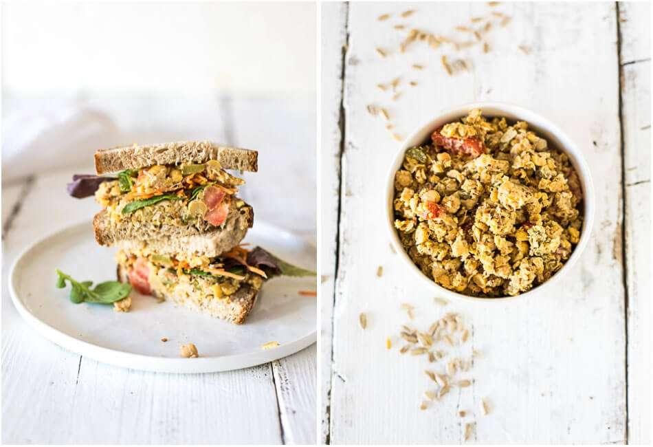 Vegan tuna salad | insimoneskitchen.com