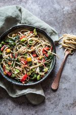Noodles with swiss chard | insimoneskitchen.com