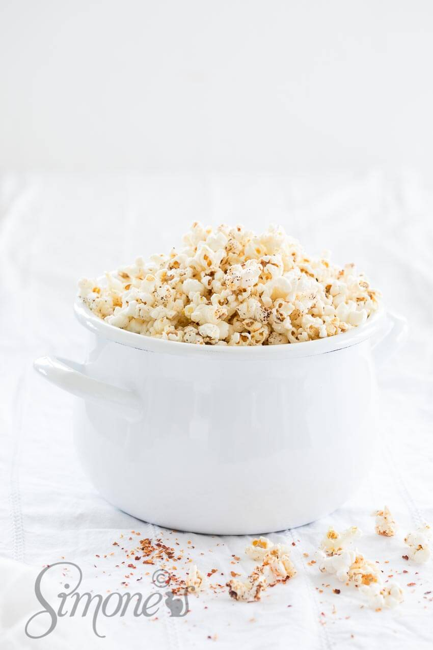 Making your own popcorn | insimoneskitchen.com