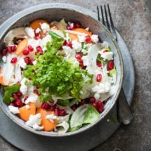 Fennelsalad with pomegranate | insimoneskitchen.com