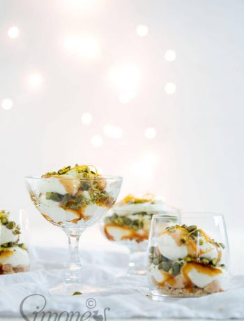 Quick christmas dessert with pistache and orange | insimoneskitchen.com