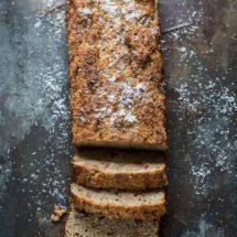 Coconut banana courgette cake | insimoneskitchen.com