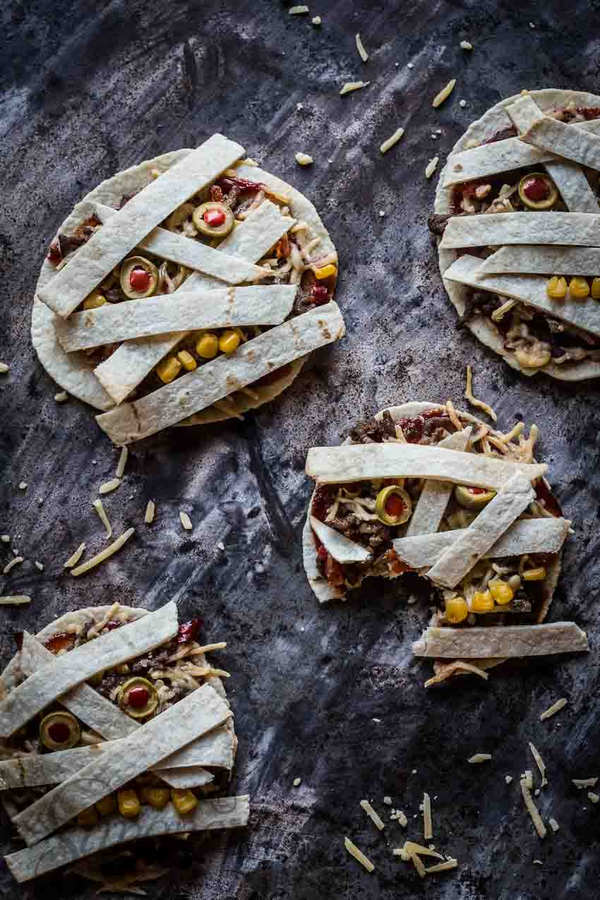 Halloween tortilla's | insimoneskitchen.com