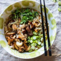Pork belly ramen noodle dish | insimoneskitchen.com