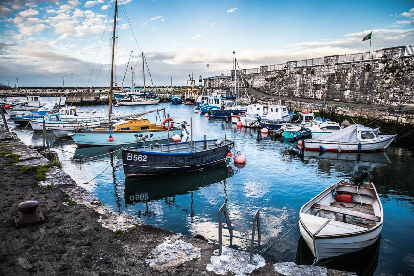 Carnslough harbour | insimoneskitchen.com
