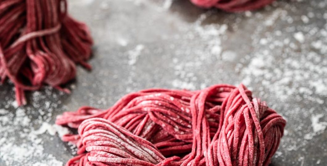 How to make red beetroot pasta | insimoneskitchen.com