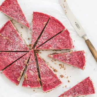 paleo and vegan no bake cheesecake