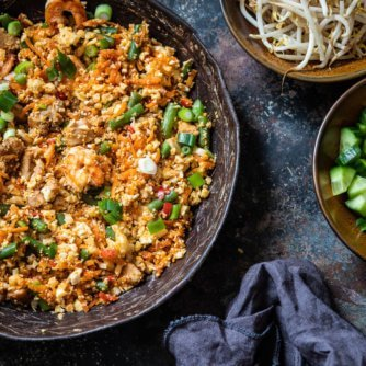 Nasi goreng paleo and whole30