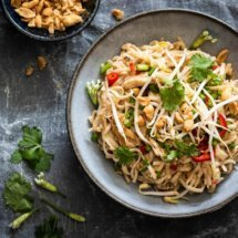 Making the best pad thai