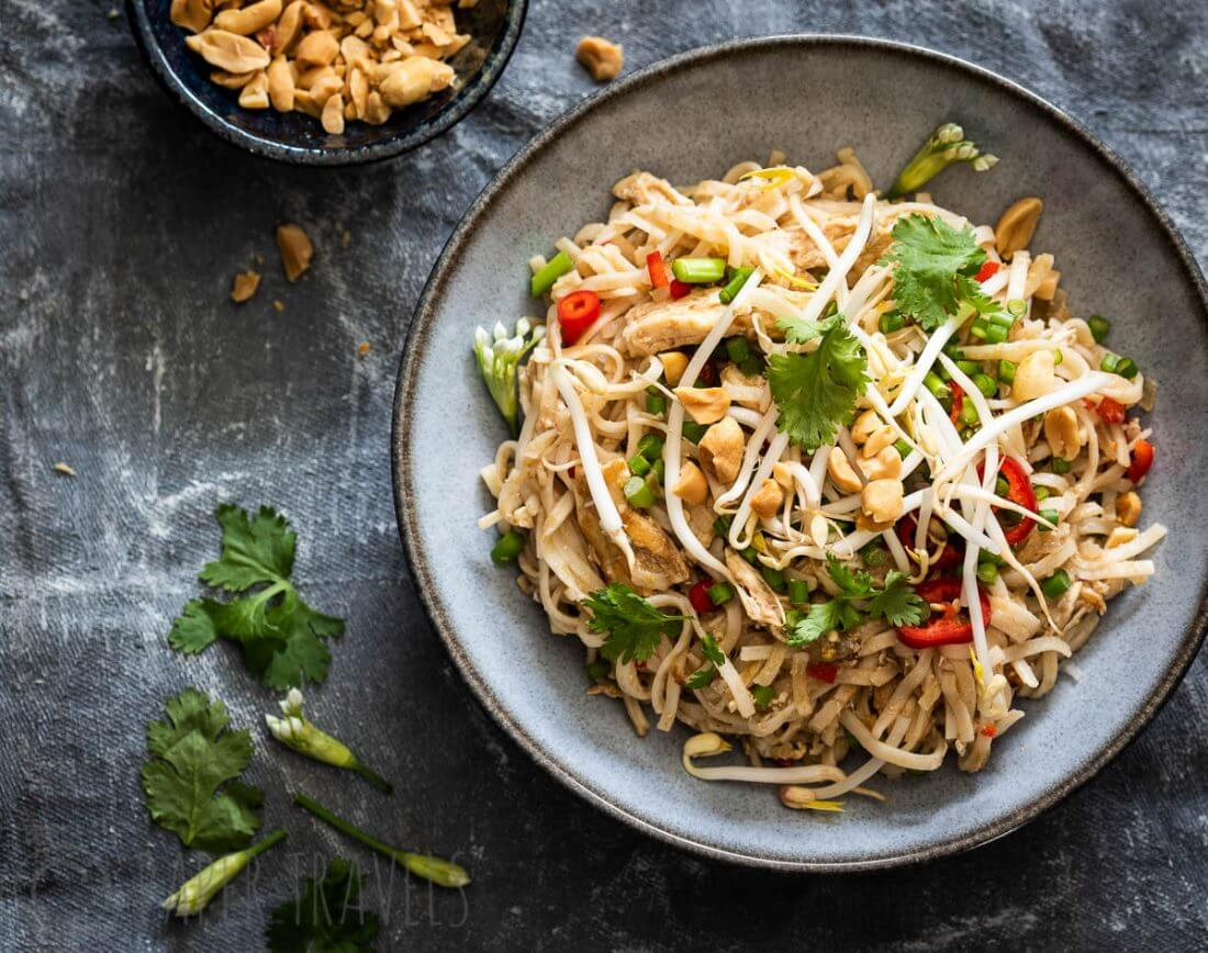 How To Make The Best Pad Thai At Home Simone S Kitchen
