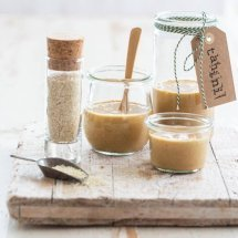 Making tahini from scratch